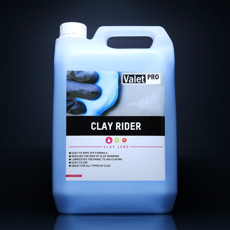 Clay Rider 5L front label